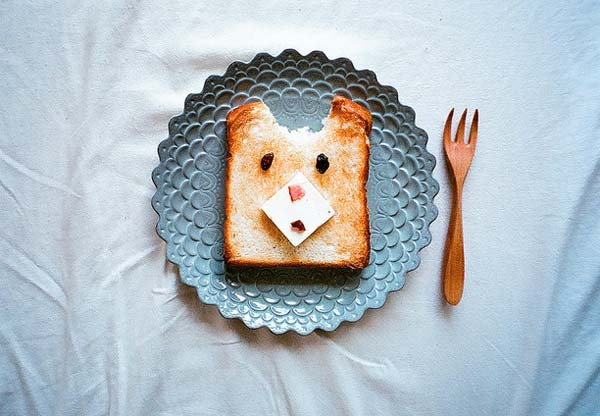 Breakfast Food Art