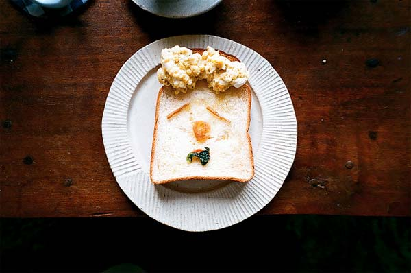 Toast Food Art