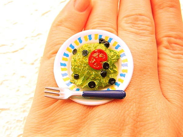 Salad Miniature Food Rings