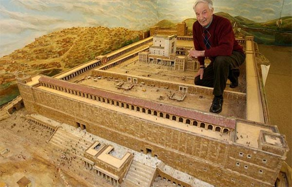 Model of Herod's Temple by Alec Garrard