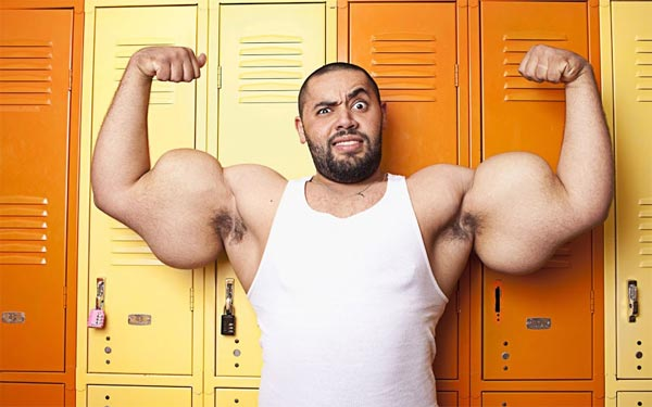 World's Largest Biceps