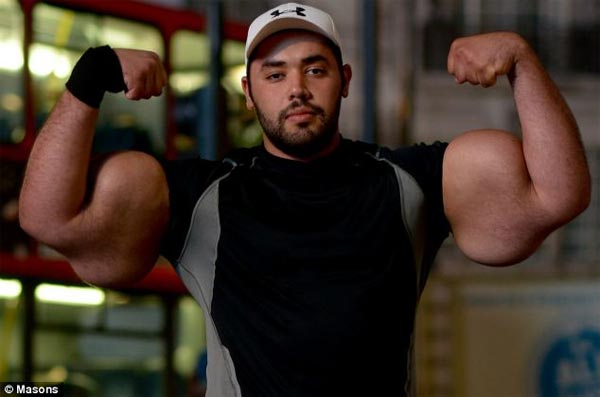 Big Mo with World's Largest Biceps