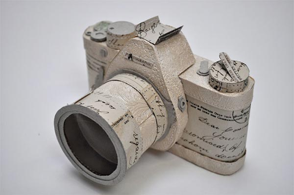 Paper Camera by Jennifer Collier