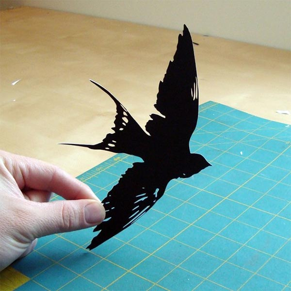 Paper-cut Swallow