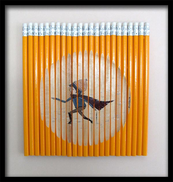 Pictures on Pencils