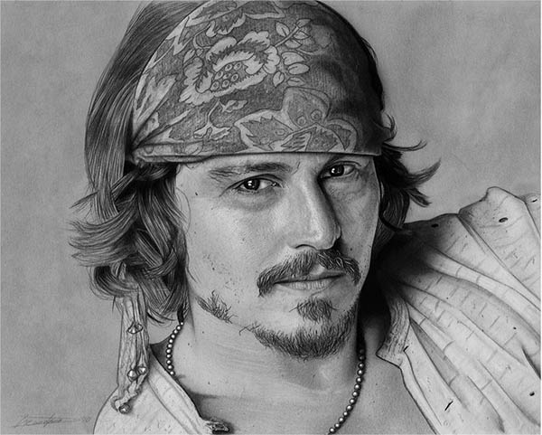 Photo-Realistic Pencil Drawings