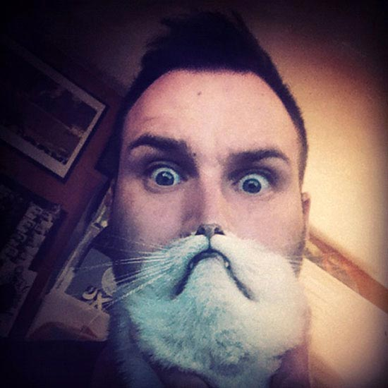 Grow Beard with Cat