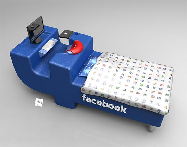 Facebook Bed Concept