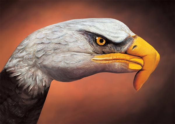 Creative Hand Paintings by Guido Daniele