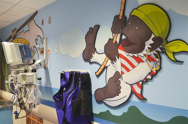 New York Hospital Gets A Pirate-Themed CAT Scanner