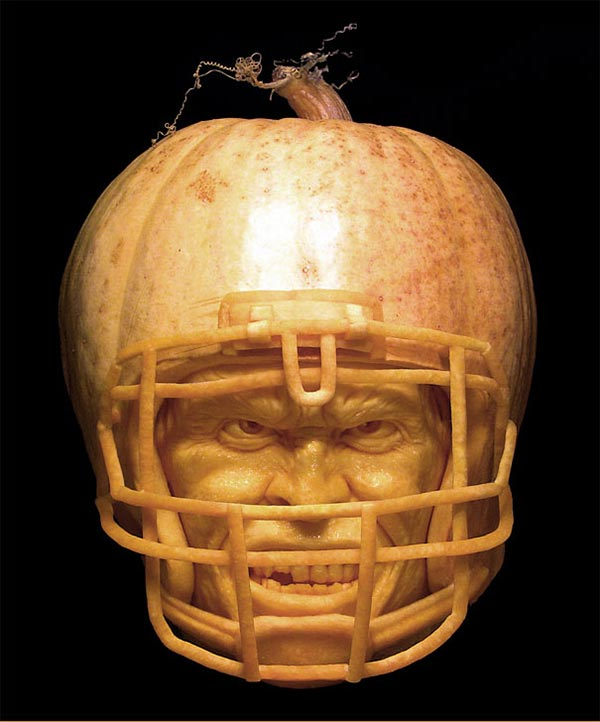 Pumpkin Carvings by Ray Villafane