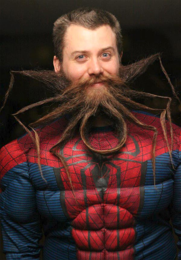 Spider-Shaped Beard