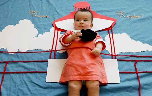 Adorable baby dresses up as all your favorite TV characters