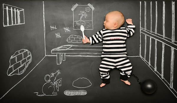 Creative Mommy Makes Blackboard Adventures for Baby