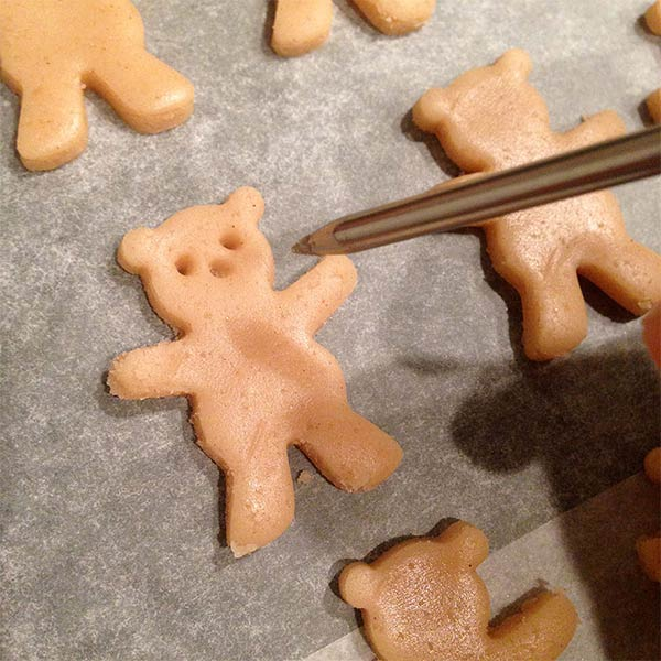 Hugging Bear Cookies