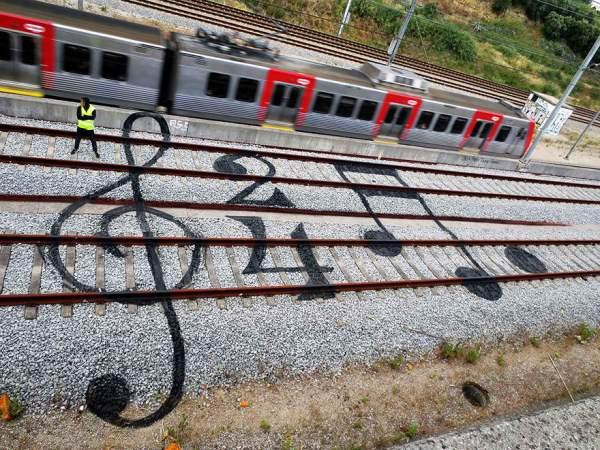 Railroad Art