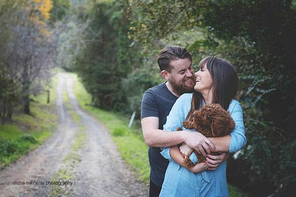 "Couple Does ""Newborn"" Photo Shoot of Rescue Dog"