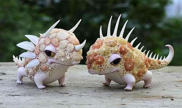 Porcelain Creatures by Anya Stasenko and Slava Leontyev