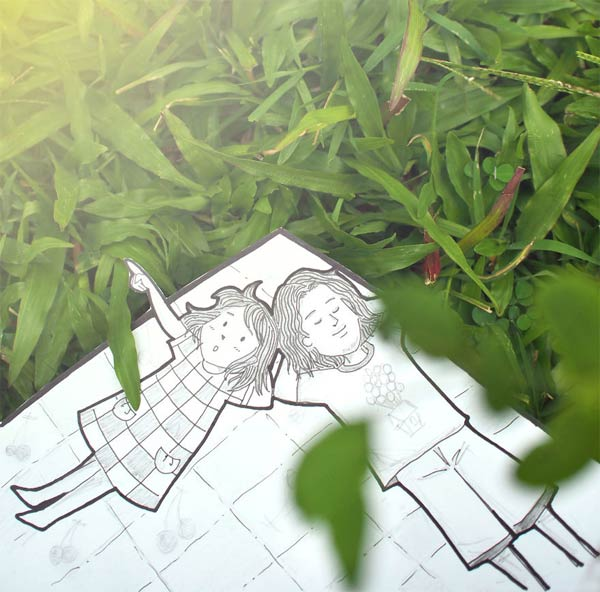 Instead of Selfies Couple Make Doodles To Document Their Journey