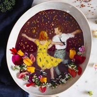 Smoothie Bowl Food Art Illustrations