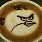 Angry Birds fan and subsequent coffee fan Eric has created this rather timeless piece of coffee art for the world to smile at. It's funny how a few confident...