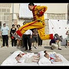 Jumping Over Babies Festival in Spain