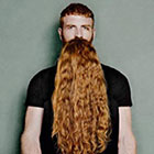 Long Hair Beards Illusion