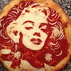 Celebrity Pizza Portraits by Domenico Crolla