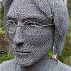 Incredible Chicken Wire Sculptures