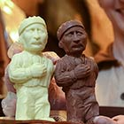 Ukrainians Create Putin-Shaped Chocolates