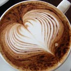 Yummy Latte Art with Beautiful Heart Shapes