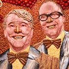 British Comedy Legends Made From Breakfast Foods