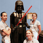 Amanda Oakleaf Cakes is again in news now for the life-size Darth Vader Cake they recently created. The same company that made the life-size Stormtrooper cake. This amazing Darth...