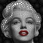 Celebrity Portraits Made From Thousand of Circles