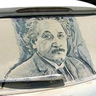 Amazing Artwork on Dirty Cars