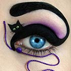 Creative Eye Makeup Illustrations
