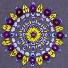 Beautiful Flower Mandalas by Kathy Klein