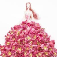 Whimsical Flower Dresses By Lim Zhi Wei - Part 2