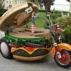Hamburger enthusiast Harry Sperl has created the custom Harley Havidson to look like an exact replica of a hamburger. With cheese, pickles, onions, lettuce, and tomato, not to mention...