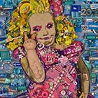 Honey Boo Boo Portrait Made From 25lbs of Garbage