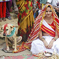Indian Teenage Girl Marries A Dog To Ward Off Evil Spirit