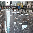British street artists 3D Joe &amp; Max created the world&#8217;s largest and longest 3D street painting in the Canary wharf district of London. This largest painting spans 12,490 square...