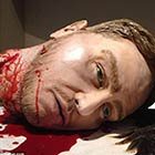 A film buff couple had a gruesome wedding cake made of their own severed heads. Natalie Sideserf, 28, a cake artist spent forty hours creating the cake to match her movie-themed wedding. Both heads are […]