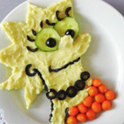 Lisa Simpson Made Out of Food