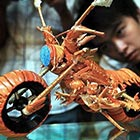 Motorcycle Made Out of Lobster Shells