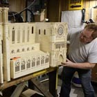 Matchstick artist Patrick Acton has painstakingly recreated the stunning replica of the Notre Dame Cathedral. Patient matchstick artist used 298,000 matchsticks, 55 liters of wood glue and 2,000 toothpicks....