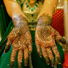 The Mehndi is a temporary form of skin decoration in India, Pakistan and Bangladesh. Mehndi is typically applied during special occasions like weddings and Muslim Festivals such as Eid-ul-Fit...