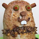 Adorable Sandwich Monster Sculptures