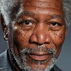 Morgan Freeman Finger-Painting Made with iPad