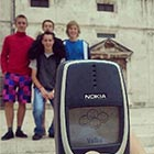 Family Photo Captured with Nokia 3310